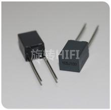 20 piezas Xiamen Faratronic CL23B 1UF 100V 63V1UF P5MM FARA CL23 105 gris Condensador de película, 105/100V 1000NF 1.0UF63V