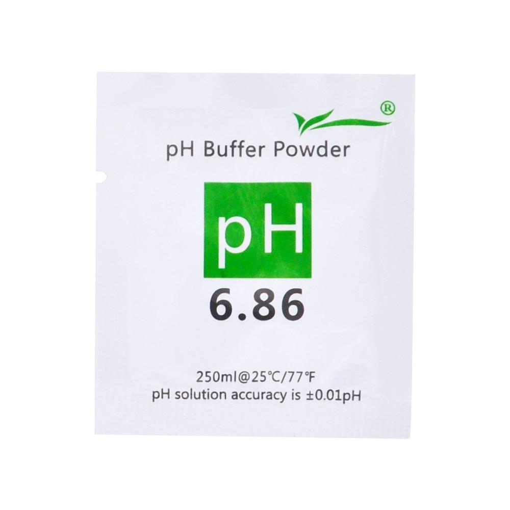 200 pezzi di tampone PH in polvere per acquario PH-metro PH-metro - Strumenti di misura - Fotografia 2