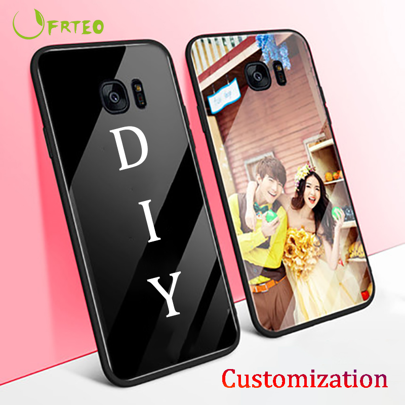 Personalized DIY Customized Case For Samsung Galaxy S10 10e 10+ 9 8 Note 10 10Pro 9 8 A7 A8 A9, A5 A3 2017, J7 Print Photo Cover image
