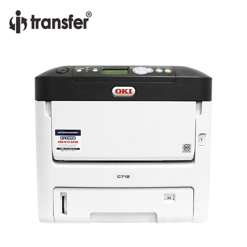 I-transfer CMYW A4 Colour White Toner Laser Printer