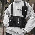 Alyx saco tático colete carta saco de equipamento de peito bolsa de ombro hip hop saco de peito para homens streetwear saco de alta capacidade sacos de rim