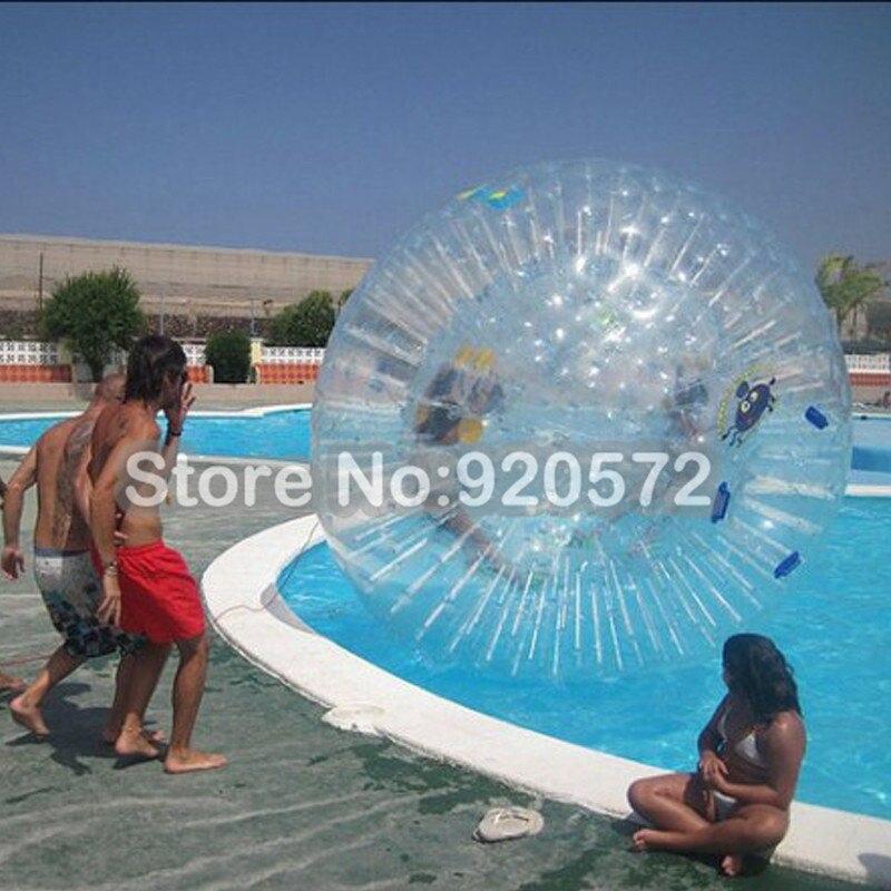¡Fábrica personalizar! ¡Envío Gratis! Dia 3M BOLA DE Zorbing equipo grande Aqua Zorbing Bola de agua Zorb para la venta