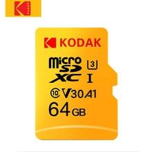 Kodak-Tarjeta de memoria Micro SD de clase 10 para cámara fotográfica, tarjeta de memoria flash, de 16, 32, 64, 128, 256 y 512Gb de capacidad