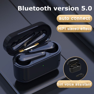 Беспроводные наушники, Bluetooth-гарнитура, HiFi наушники с шумоподавлением и микрофоном, сенсорные наушники с HD-вызовом и сканером отпечатка пал...