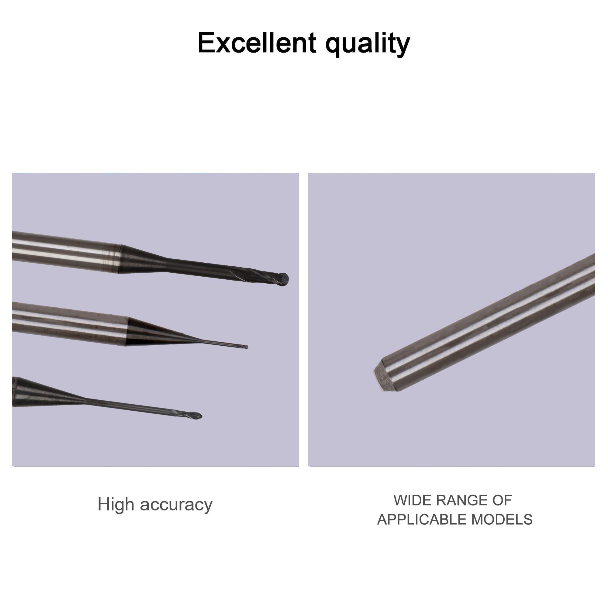 de Zircônia Bloco Disponível 0.6mm, 1.0mm, 2.0mm