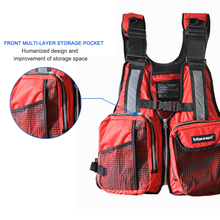 Swimming Boating Skiing Driving Vest Survival Suit Polyester Life Jacket for Adult with Pipe Water Sports Outdoor Buoy Clothes