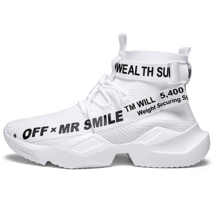 MR SMILE 2019 Men Chunky Shoes Quality