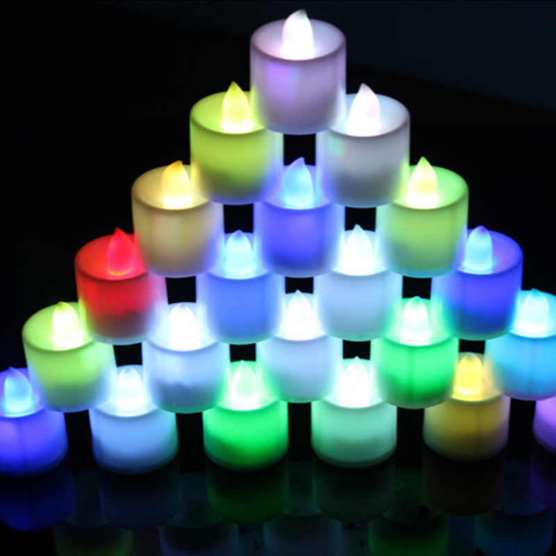 Electronic Flameless Candle Lamp