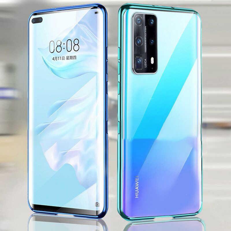 360 מגנטי מתכת מקרה עבור Huawei Mate 30 20 P40 30 20 פרו לייט זוגי צד זכוכית לכבוד 10 20 30 9X פרו 8X נובה 7 5 6 כיסוי