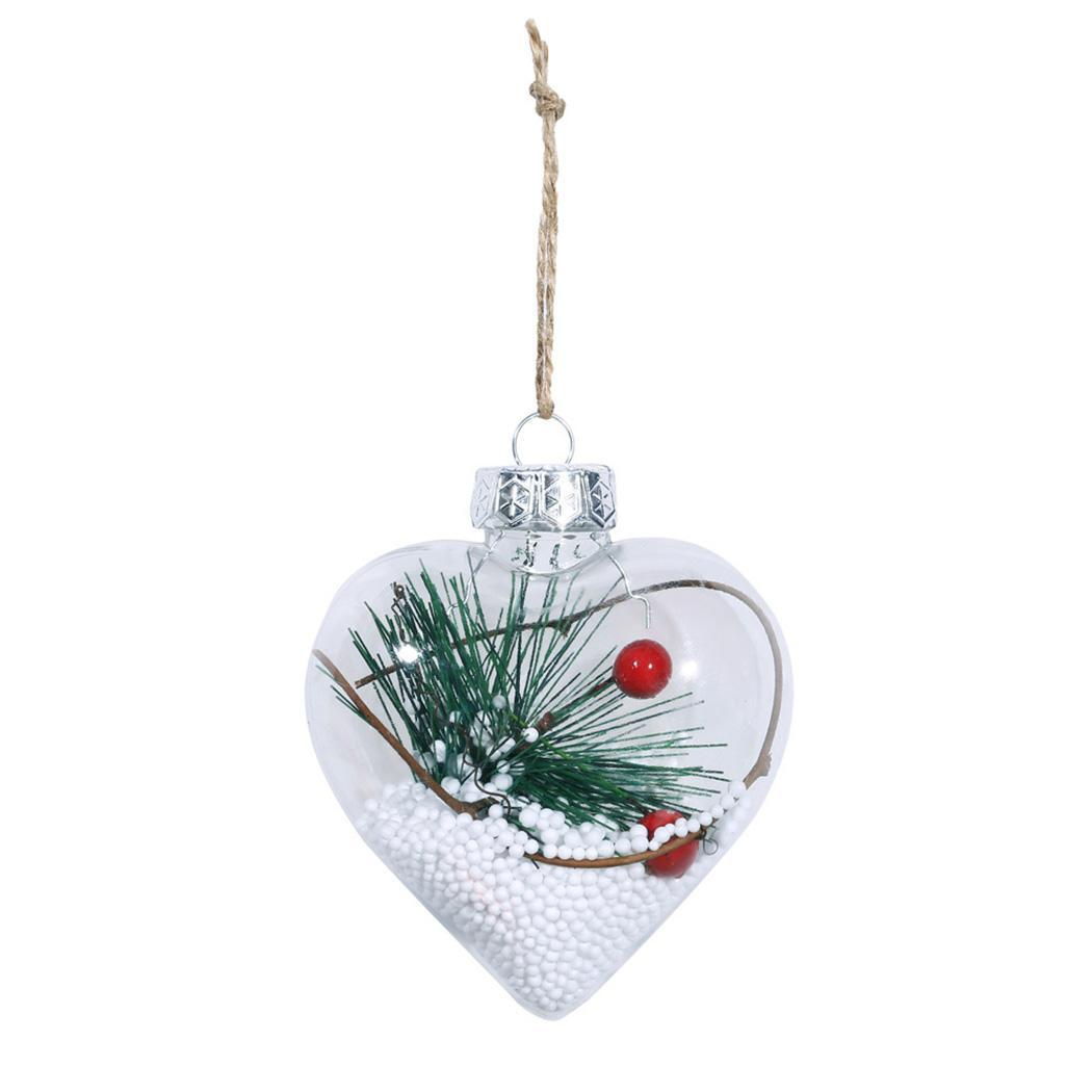 2 Christmas Tree.Us 1 56 Christmas Tree Balls Clear Hanging Ornament Pendant 1 2 3 4 Party 20g Round Home Decorations Casual On Aliexpress 11 11 Double