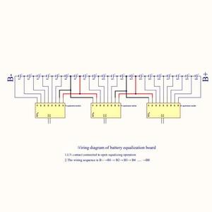 Image 5 - 3S 4S 5S 6S 7S BMS Active Equalizer Current Balancer Li Ion Lifepo4 LTOแบตเตอรี่ลิเธียมenergy Transfer Balanceป้องกัน