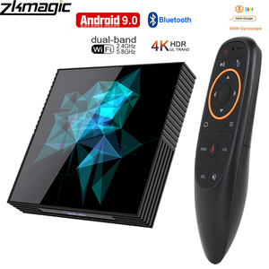 Image 1 - Tv box Android 9.0 A95X Rockchip 4G 32GB 64GB Android box Bluethooth 2.4/5.0G WiFi Google Play Smart Android Tv box