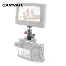 """CAMVATE Camera Standard NATO Rail Clamp Quick Release Swat Rail Clamp With 1/4"""" 20 Mounting Points For DSLR Camera Cage/Handle"""