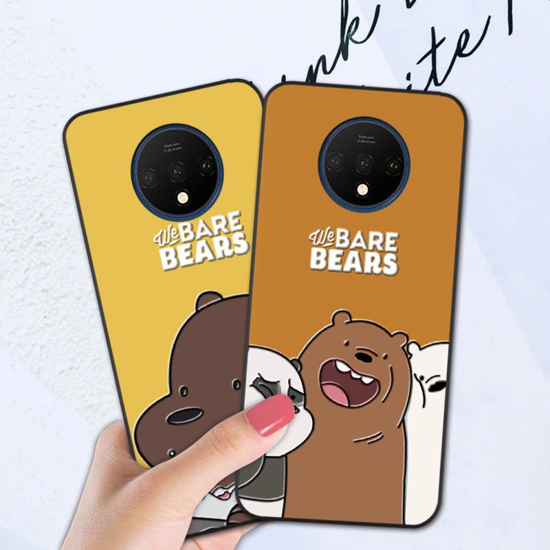 Soft Cover Fundas Case For <font><b>Oneplus</b></font> 1+ 3 3T 5 5T <font><b>6</b></font> 6T <font><b>3D</b></font> Cartoon Funny Back Cover For <font><b>Oneplus</b></font> 7 7T Pro image