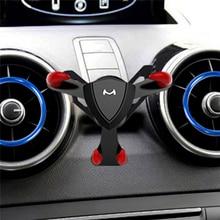 Auto Air Vent Halterung Clip Halter für Audi A1 Schwerkraft Y Form Telefon Clip Stehen Teufel Halterung Universal Schwerkraft halter