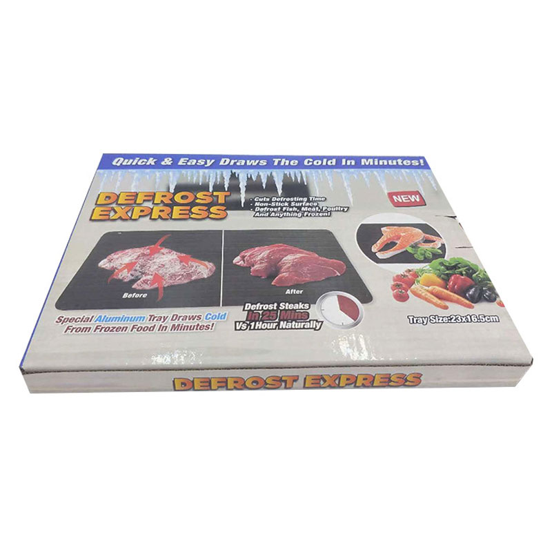 Image 4 - Defrost Express Thaw Plate Special Aluminum Tray Draws Cold Meat And Seafood In Minutes Kitchen Tools Magic Thaw MasterDefrosting Trays   -