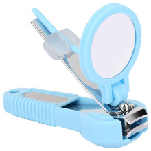 Baby Nail Care wiht Magnifying Glass,Nail scissor,Pocket Finger Toe Clipper Cutter Trimmer Manicure Tool Kids