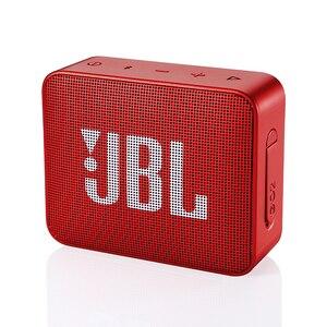 Image 3 - JBL GO2 Беспроводная Bluetooth Колонка IPX7, водонепроницаемая внешняя колонка с возможностью подключения к порту s, перезаряжаемая батарея с микрофоном, порт 3,5 мм, порт S, Go 2