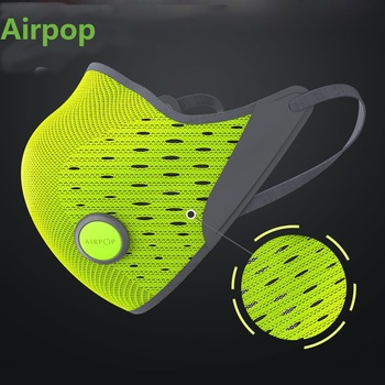 AirPOP Air Wear Face Mask With Filter PM0.3 / PM2.5 Breathable Mouth Mask xiaomi Bag Adjustable For Riding