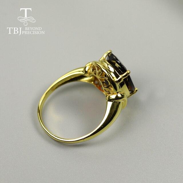9.5 ct Natural Black Garnet gemstone Ring oval cut 12*16mm rare big size garnet gemstone jewelry 925 sterling silver for women