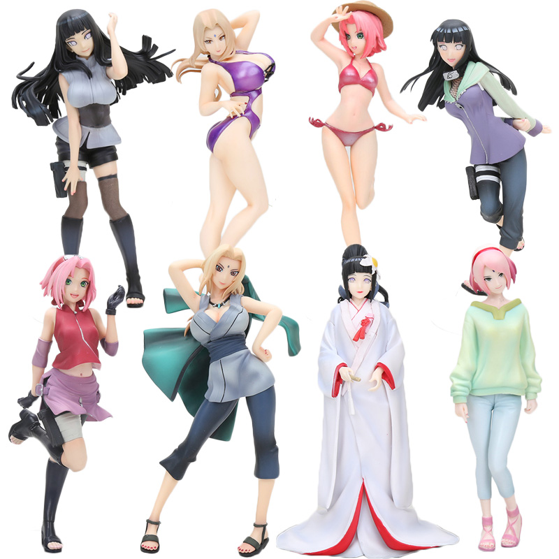Figure-Toys Collectible-Toy Hinata Naruto Shippuden Megahouse Sakura Haruno 20cm Tsunade