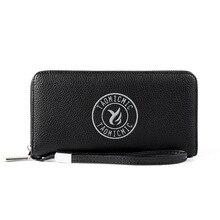Men's Wallet Long Zipper 2020 New High Capacity Phone Bag Multifunction Multiple Card Slots Fashion Business Wallet Clutch