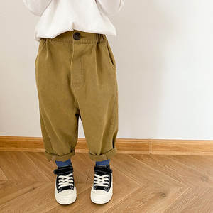 SCotton Trousers Stra...
