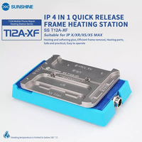 SS T12A XF quick remove frame machine for iphone X XR XS XS MAX Rapid heating glue efficient frame