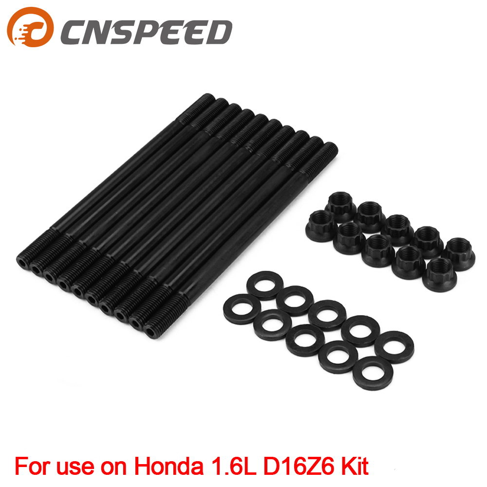 For 208-4301 Cylinder Head Stud Kit For Honda Civic 1.6L D16 D16Z D16Z6 D16Z7