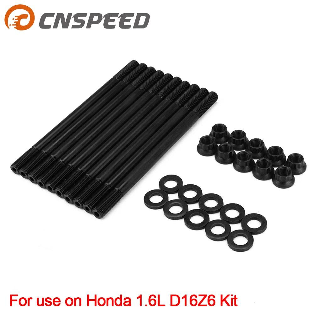 Per Il 208-4301 Cilindro Testa Della Vite Prigioniera Kit per Honda Civic 1.6L D16 D16Z D16Z6 D16Z7