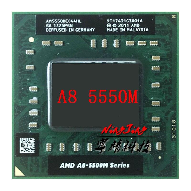 AMD A8-Series A8-5550M A8 5550 M 2,1 GHz Quad-Core Quad-Hilo de procesador de CPU AM5550DEC44HL hembra FS1
