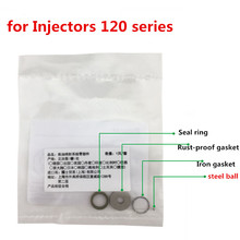 Free shipping and good price! 100pcs common rail injector repair kit F00VC99002 with 1.34mm steel ball for injector repair kit