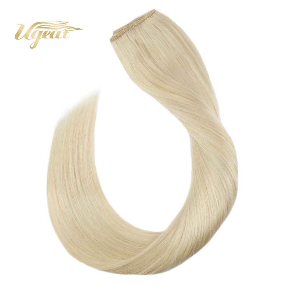 Flip In Hair Extensions Machine Made Remy Hair Extensions 12-22