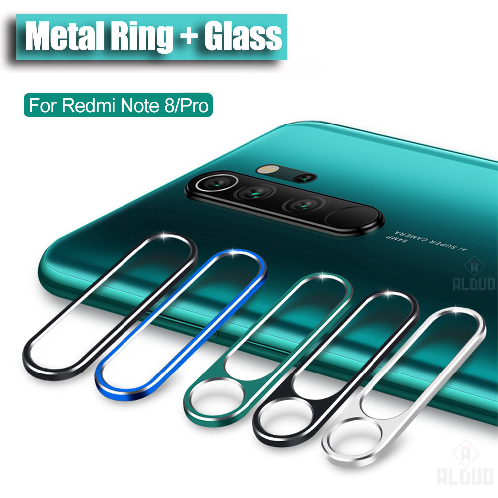 Camera Protector For Xiaomi Redmi Note 8 Pro Note8T Tempered Glass&Camera protection Ring Cover For Redmi Note 8 Lens case glass