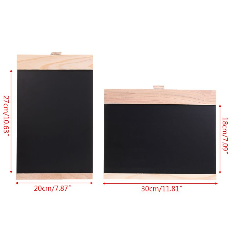 Desktop Message Blackboard Easel Chalkboard Kids Writing Advertising Board Bar