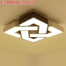 Teto Lampada Plafond Deckenleuchten Lustre Plafon Lamp For Living Room Vintage De Plafonnier Lampara Techo LED Ceiling Light