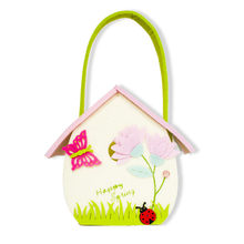 Creative Cloth Tote Basket Cartoon Butterfly Candy Storage Bag Cute Seven Star Ladybug Felt Storage Gift Basket(China)