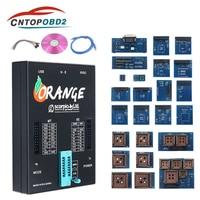 Newest Orange 5 Full Adapters OEM Programming Device Hardware + Enhanced Function Software V1.34 Orange5 Get 2 Free Fix Pen
