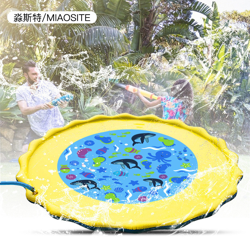 Toys Games Play-Mat Water-Cushion Baby Inflatable Children's Spray Beach