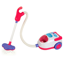 Toy Kids Electric-Vacuum-Cleaner Pretend-Play Cleaning Home-Appliance New Cart -30 Xmas