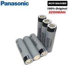 Panasonic – batterie Li-ion 18650, rechargeable, 3.7V, 3200mAh, pour lampe de poche, power bank, ordinateur portable