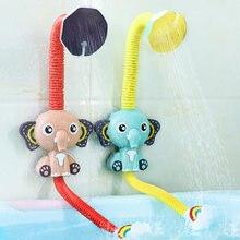 Горячая Распродажа Детские Игрушки для ванны модель слона кран