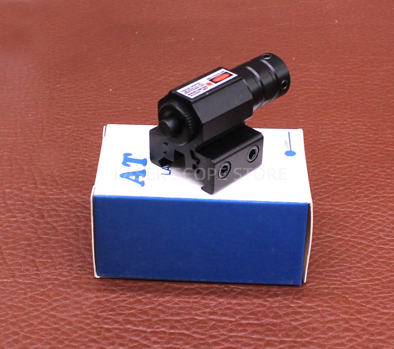 Tactical AT Red Laser Sight for Glock 19 Accessories  Glock Laser Scope  Powerful Laser Pointer 11/20mm Can Change-4