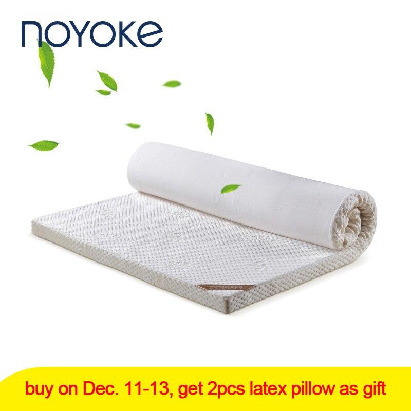 NOYOKE Bed Mattress Tatami Memory Foam Mattress 5cm Slow Rebound Bed Furniture Mattress Topper