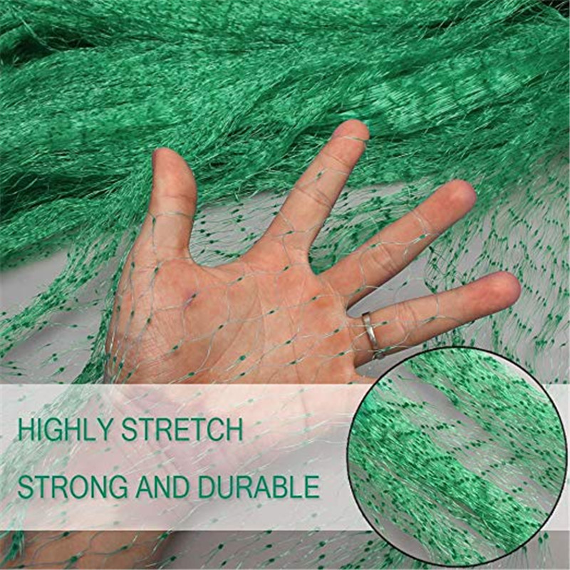 Extra Strong Anti Bird Netting Garden Allotment Doesn't Tangle And Reusable Lasting Protection Against Bird Netting Pest Control