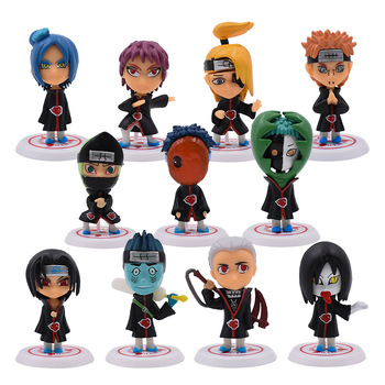 11 Pcs/Set Anime Naruto Toy Figure PVC Action Figure Doll Collectible Model Baby Toy Christmas Gift For Children shf s h figuarts takarai rihito body kun pale orange color ver pvc action figure collectible model toy