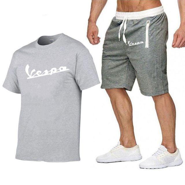 2020 Brand t shirt Men Vespa Fashion Summer 2020