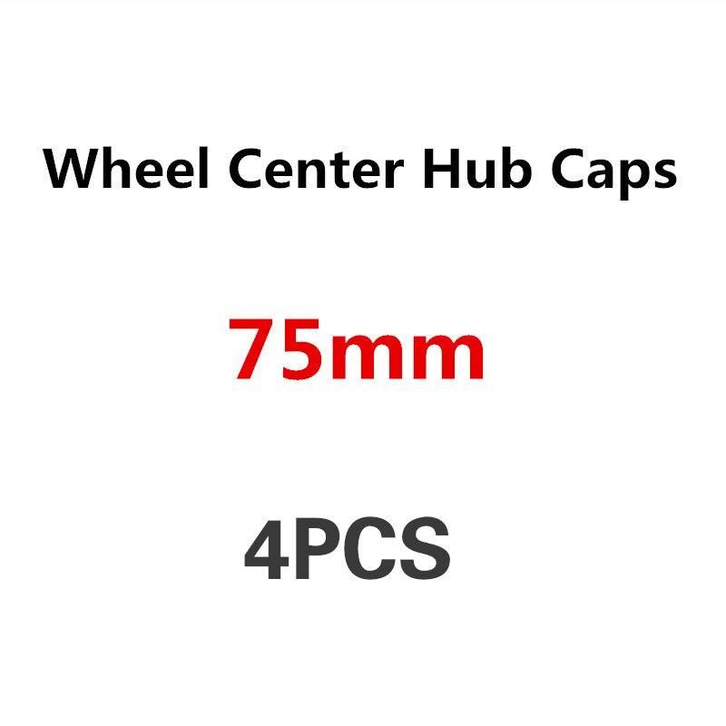 Logo d'emblème de capuchon de moyeu central de roue de voiture de 4 pièces 75mm pour Mercedes Benz W205 W204 W203 W212 W211 W213 W210 W164 W124 W220 A C E classe B