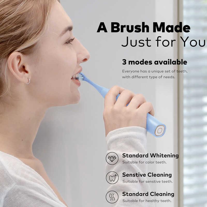 2020 Oclean F1 Sonic cepillo de dientes eléctrico IPX7 impermeable 3 modos de cepillado para adultos Ultra sonic carga rápida automática