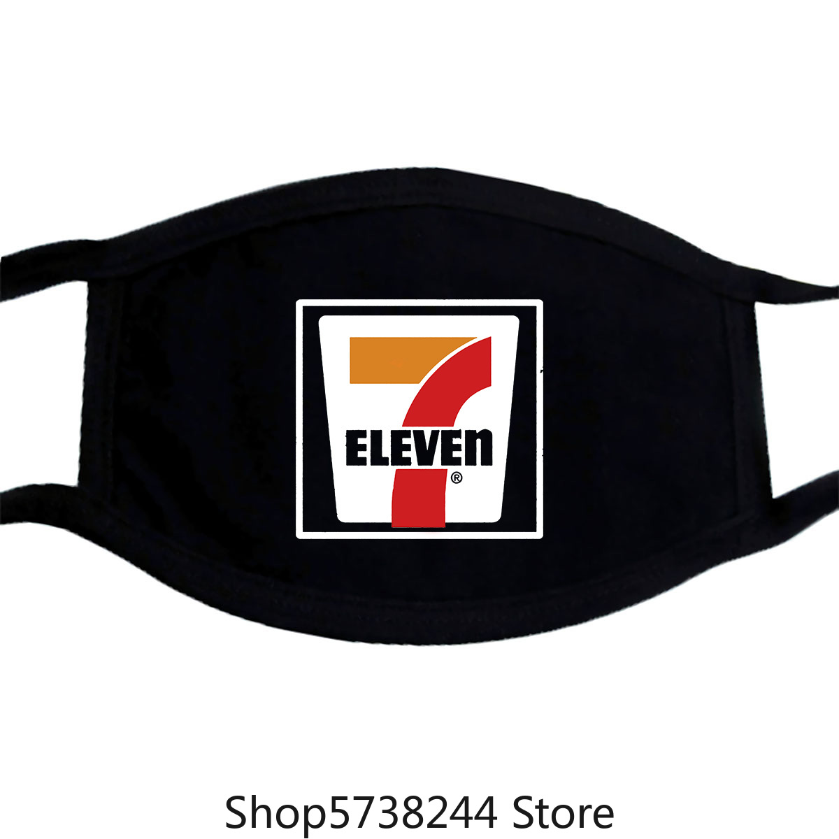 7-11, Seven, Eleven, Retro, Distressed, Logo, Mask Washable Reusable Mask